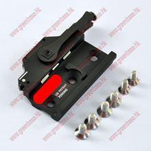 图片 GB M93 Swing-Lever WeaponLight Rail Clamp Black NGA0696