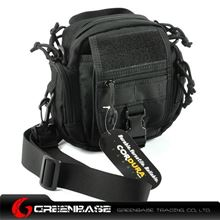 Picture of CORDURA FABRIC Multipurpose waist/Molle/backpack  Bag Black GB10001