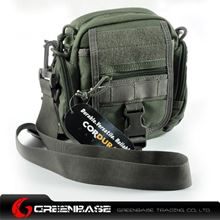 Picture of CORDURA FABRIC Multipurpose waist/Molle/backpack  Bag Ranger Green GB10003