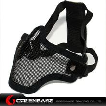 Picture of Tactical CM01 Strike Mesh Half Face Mask Black GB10059