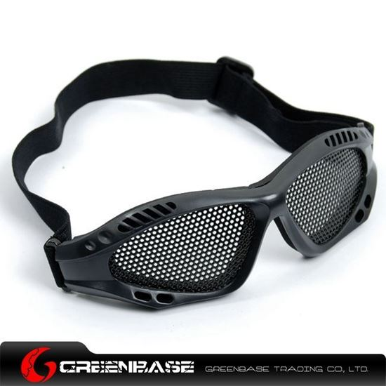 Picture of Metal Wire Goggle Black GB10065