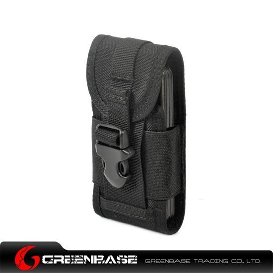 Picture of CORDURA FABRIC Phone Pouch Holder Black GB10085