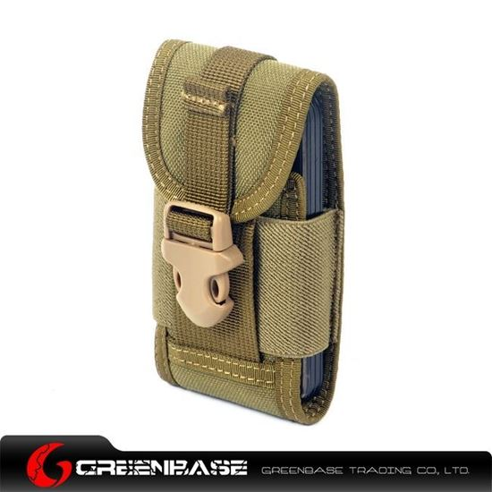 Picture of CORDURA FABRIC Phone Pouch Holder Khaki GB10086