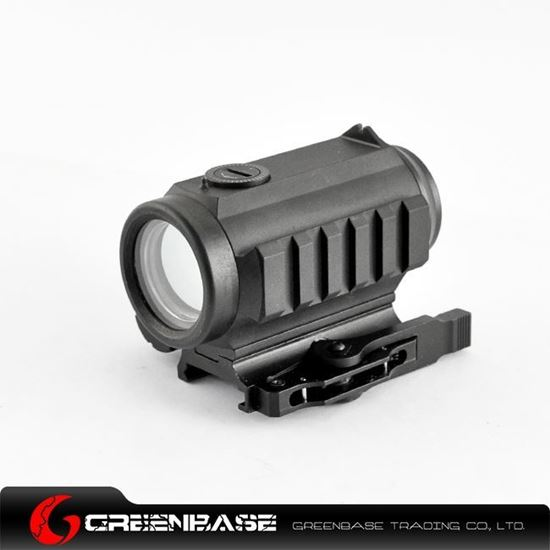 Picture of Aluminum QD Mount 1x30 Red and Green Dot Tactical Scope w/ Rear Sight and Flashlight Mounting Rail NGA0910