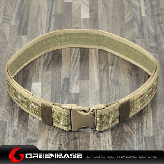 Picture of Tactical CORDURA FABRIC 2inch Belt Khaki Camouflage GB10106