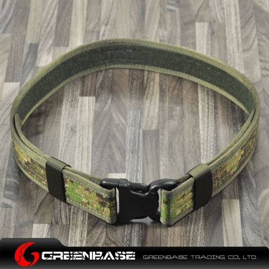Picture of Tactical CORDURA FABRIC 2inch Belt Green Camouflage GB10107