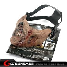 Picture of Zombie Army M05 Half-face Mask Zombie color GB10116