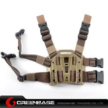Picture of GB CQC Leg Plateform for attach the holster Dark Earth NGA0560