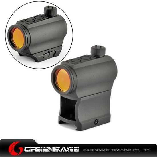 Picture of Unmark High Mount 1X24 Red Dot Scope Black NGA0948