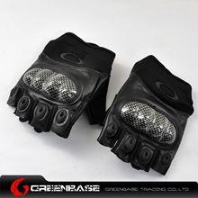 Picture of GB OK Half Finger Gloves Black-M size NGA0797