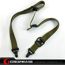 Picture of Unmark MS3 Type Multi Mission Sling System Green NGA0039