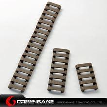 图片  EX 330 Element 18-Slot Ladder LowPro Rail Cover Dark Earh NGA0077