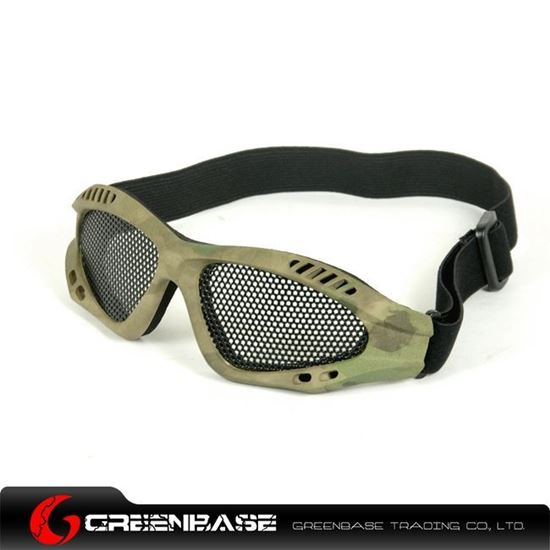 Picture of Tactical Metal Wire Goggle ATACS-FG NGA0118
