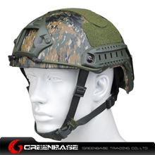 Picture of  NH 01001-Woodland Digital FAST Helmet-Standard TYPE Standard TYPE GB20010