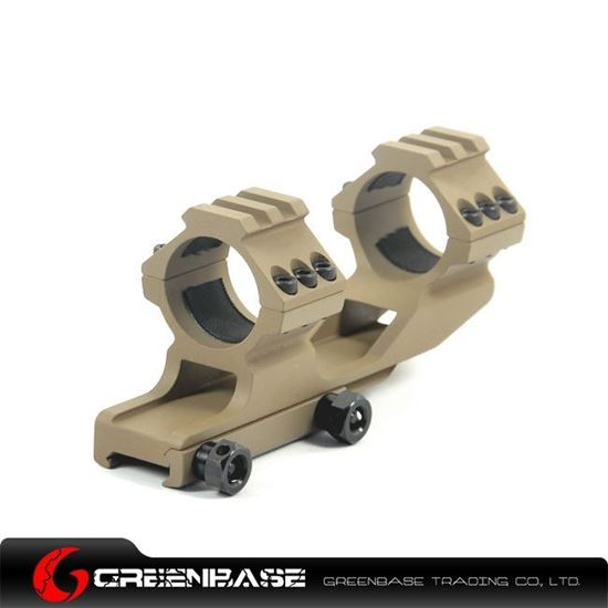 Picture of Tactical Top Rail extend 30mm ring for weaver Base Dark Earth NGA0138