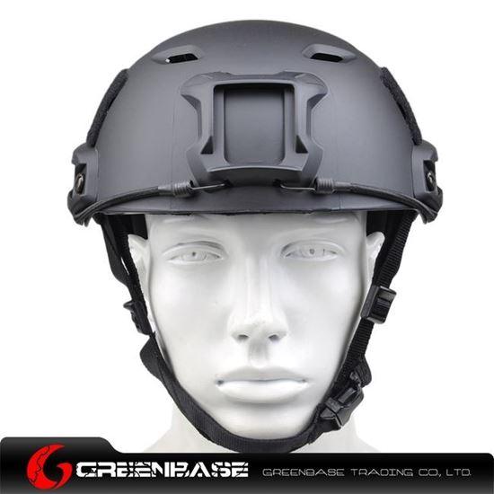 Picture of  NH 01003-BK FAST Helmet-BJ TYPE Black GB20029