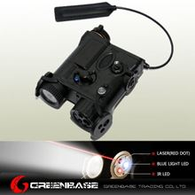 Picture of  EX 176 AN/PEQ-16A Red Laser and Flashlight Black NGA0302