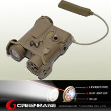 Picture of  EX 176 AN/PEQ-16A Red Laser and Flashlight TAN NGA0303