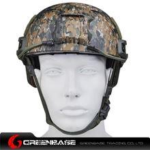 Picture of  NH 01003-Woodland Digital FAST Helmet-BJ TYPE Woodland Digital GB20038