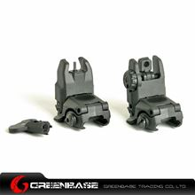 Picture of Unmark G3 Polymer Front & Rear Folding Sights Black GTA1019