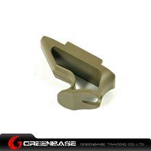 图片 Unmark Aluminum Short Angle Grip Dark Earth GTA1032