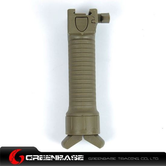 Picture of Unmark Tactical Foregrip Bipod Dark Earth GTA1099