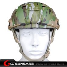 Picture of  NH 01003-MC FAST Helmet-BJ TYPE Multicam GB20033
