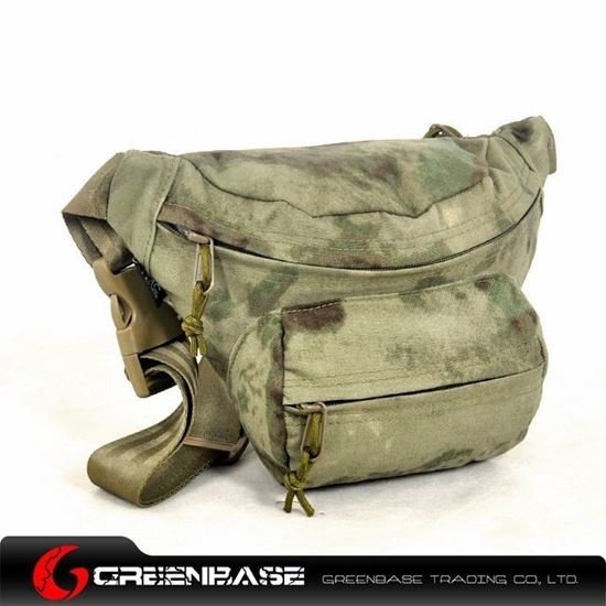Picture of TMC1901 Cordura Low Pitched Waist Pack AF-FG GB10164