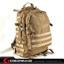Picture of 900D 3D Field Outdoor Tactical  Rucksack Backpack Bag Khaki GB10166