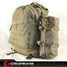 Picture of 900D 3D Field Outdoor Tactical Rucksack Backpack Bag Khaki GB10170