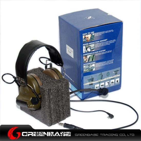 Picture of  Z 041 Comtac II Noise Reduction Headset With New Military Standard Plug GB20072