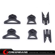 Picture of  NH 03006-BK Goggle Swivel Clips  19mm & 36mm Black GB20136