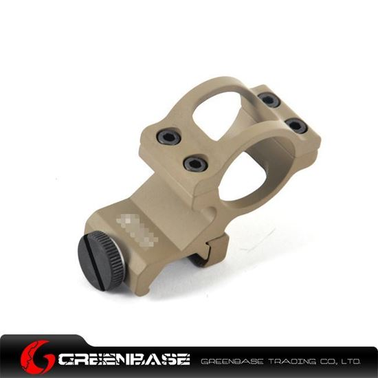 Picture of GB Offset 1 inch Flashlight Mount Dark Earth NGA0694