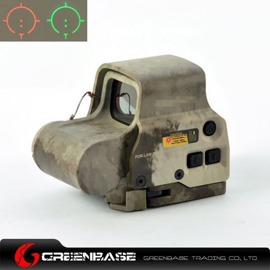 Picture of GB EXS2 Red & Green Illumination T Dot Reticle Scope A-TACS NGA0731