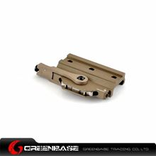 Picture of GB M93 Swing-Lever WeaponLight Rail Clamp Dark Earth NGA0886