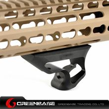 Picture of GT CNC Keymod System Short Angled Grip Black GTA0297