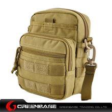 Picture of 9099# outdoor single shoulder bag Khaki GB10262