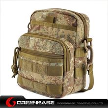 Picture of 9099# outdoor single shoulder bag Khaki Camouflage GB10267