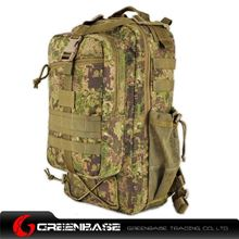 Picture of 8265# Tactical Backpack Green Camouflage GB10331