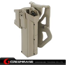 图片 NB Movable Holsters for Glock series Dark Earth NGA1055