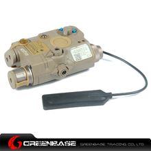 Picture of GB Element PEQ-15/LA-5C UHP Laser Flashlight Dark Earth NGA1093