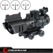 Picture of NB 4X32 Scope Illuminated Red/Green/Blue Reticle Black NGA1085