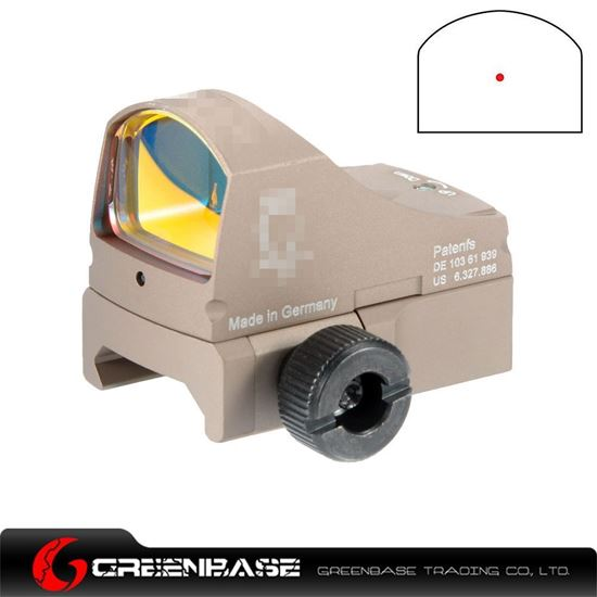 Picture of GB DT sightC Red point Dark Earth NGA1061