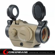 Picture of NB AI Micro T-2 Combo Low Mount 1x24 Red Dot Scope With Killflash Dark Earth NGA1097
