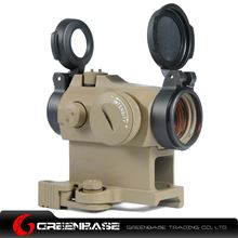 Picture of GB AI Micro T-2 QD Hight Mount Combo 1x24 Red Dot Scope With Killflash Dark Earth NGA1099
