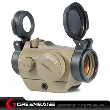 Picture of GB AI Micro T-2 Combo Low Mount 1x24 Red Dot Scope With Killflash Dark Earth NGA1101