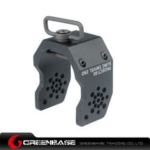 Picture of GB A Type Tactical P90 Sling Swivel End Black NGA0835
