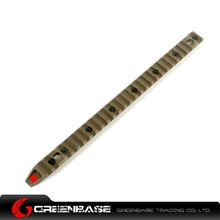 Picture of GB Keymod Full Side Rail for URX 4.0 Coyote Brown GTA1182