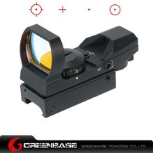 Picture of Tactical 1X22X33 Red Dot Sight Fits For 20mm Rail 4 Reticle Reflex for Air soft Hunting Rifle Scopes NGA0133