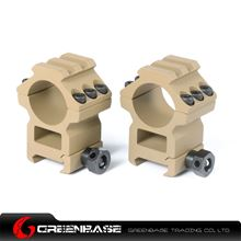 Picture of Tactical Top Rail extend 1 inch Rings Dark Earth NGA0222